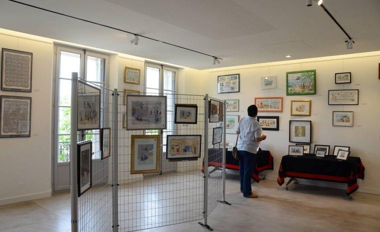 Exposition Pierre-Jean REMY au domaine de l'Ermitage