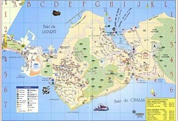 Plan d'accès Saint-Mandrier sur mer