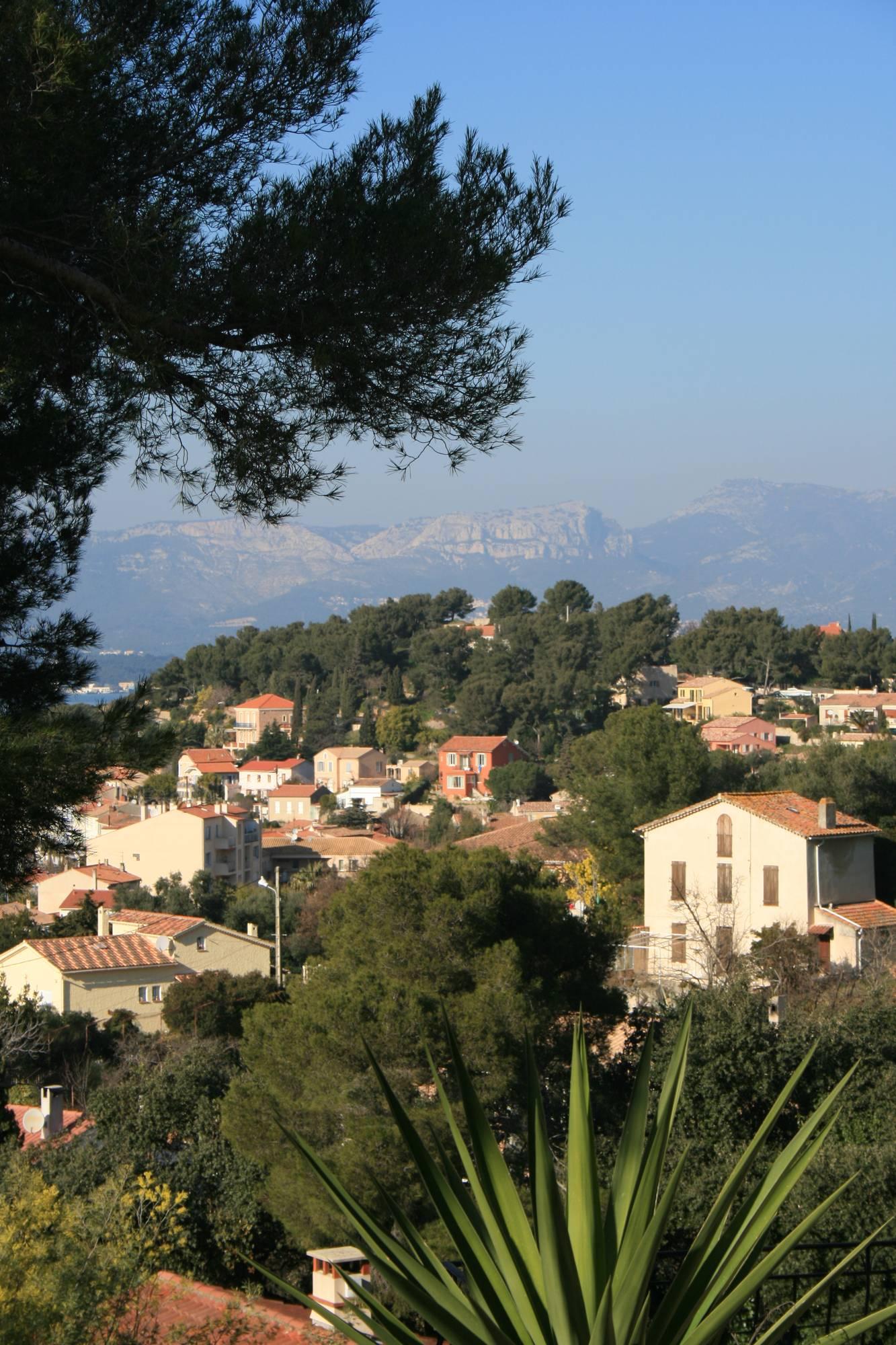 Vue de Saint-Mandrier