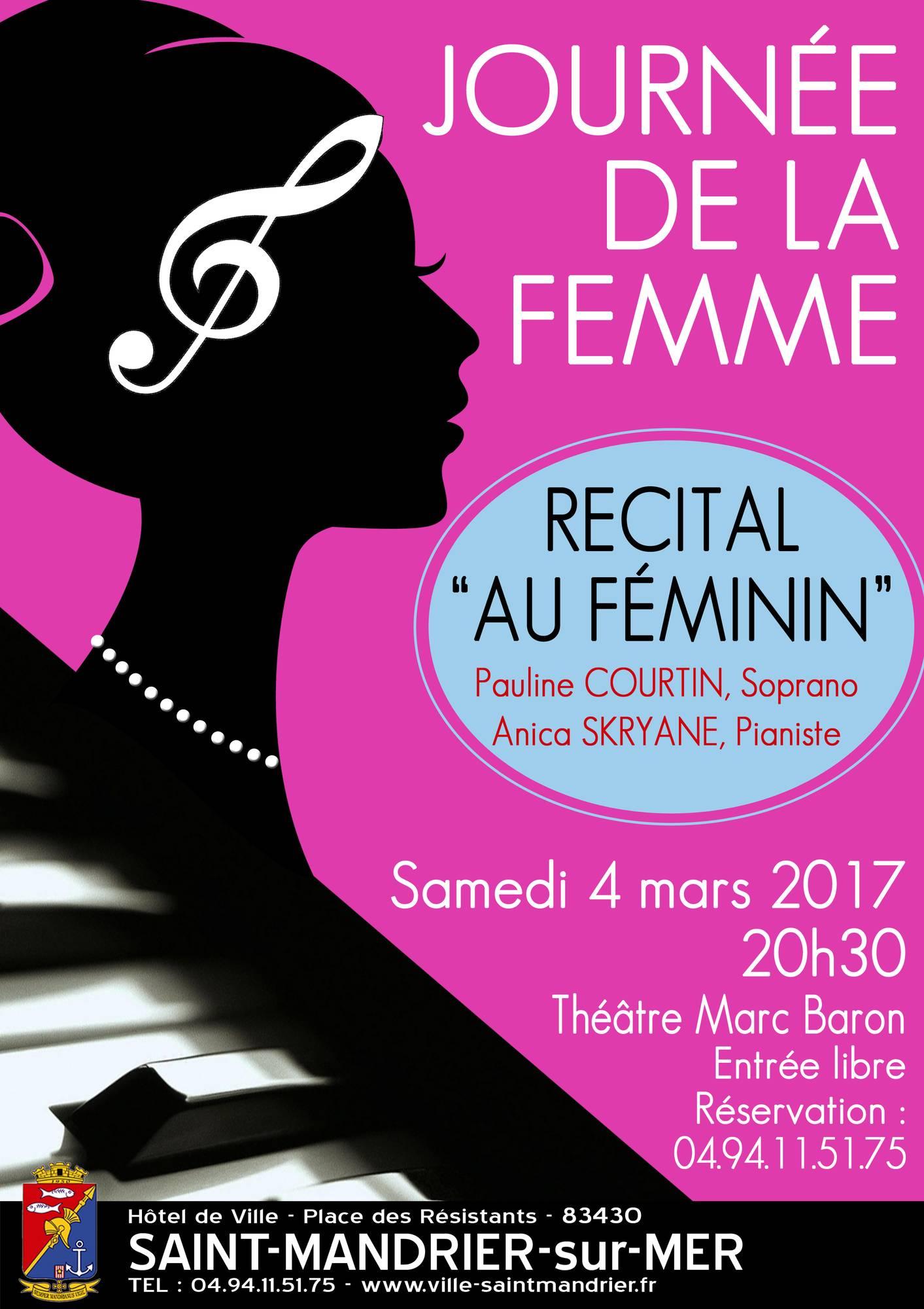 Génial Affiche Pour La Journée De La Femme affiche journée de la femme 2017 - mairie de saint -mandrier sur mer